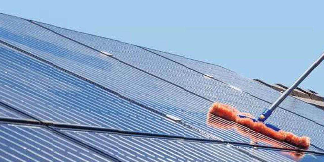 Não sabe como o limpar painel solar? Aprenda!